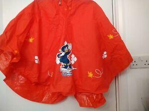 Disney Girls Age 6 Years Rain Poncho