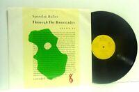 SPANDAU BALLET through the barricades (promo) 12 INCH EX+/EX-, SPANS T1, vinyl,
