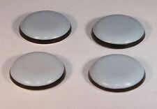 24 Stück Teflongleiter Ø 22 mm selbstklebend rund PTFE-Gleiter Möbelgleiter