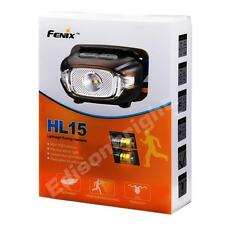 Fenix HL15 200 Lumen light weight CREE LED Headlamp (Black body) AAA running
