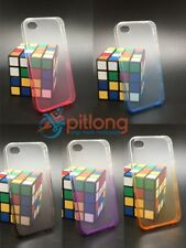 IPHONE 4 4S TRANSPARENT 2 TONE COLOUR SOFT TPU SLIM CASE