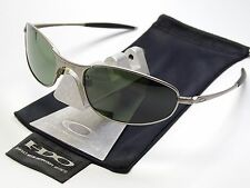 OAKLEY A WIRE LIGHT GREEN POLARIZED SONNENBRILLE SQUARE WHISKER TIGHTROPE TAPER