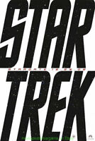 STAR TREK XI MOVIE POSTER ULTRA RARE 1ST ADVANCE 2008 COMICON PROMO ONE SHEET