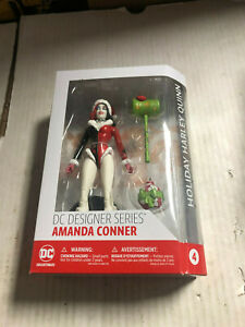 DC Collectibles Designer Series Amanda Conner HOLIDAY HARLEY QUINN Figure NEW