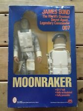 JAMES BOND 007 MOONRAKER VINTAGE ACTION FIGURE BY MEGO FROM 1979 WITH JET PACK