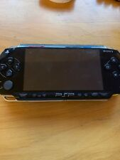 Sony PSP 1000 1001 Black Console (No Charger) TESTED WORKS GREAT