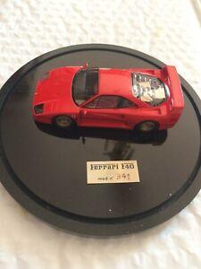 BBR Ferrari F40  Dome Display