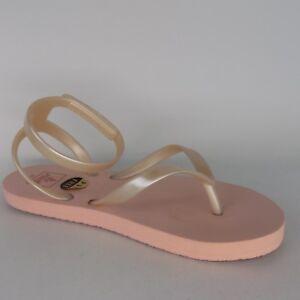 Reef Little Stargazer Dusty Pink Wrap Sandals Little Girl's Size 2/3 AL3392