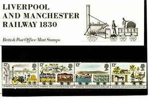 1980 Liverpool and Manchester Railway 1830 Mint Postage Stamps Royal Mail
