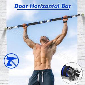 Door Horizontal Bars Adjustable Training Pull Up Bar Equipment Home Gym UK