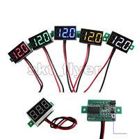 1pcs DC2.50-30V Mini Digital Voltmeter Voltage Panel Meter LED Board RED BLUE