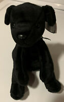 """RARE! Ty Beanie Baby """"LUKE"""" THE BLACK LAB FIRST EDITION NEW WITH ERRORS MNWMT"""