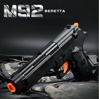 M92 BERETTA PISTOL FULL AUTO KIDS GEL BLASTER BLACK GOLD SILVER