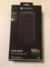 New OEM Mophie Juice Pack Air 100% Extra Battery Samsung S6 - Black