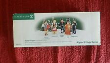 Dept. 56 Alpine Villagers Set of 5 Retired 2005 New in Box #56215