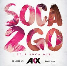 SOCA TO GO 2017 MIX CD