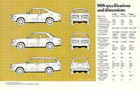 1975?1976?1977 Mazda 808 1600 Brochure / Pamphlet: Coupe, Sedan, Station Wagon,