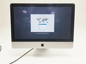"Apple iMac 21.5"" 2012 i5-3470S 2.9GHZ 8GB 1TB OSX 10.14 All-in-one MD094LL/A PC"