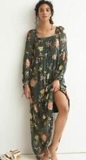 Anthropologie NEW NWT $198 Evelin Maxi Dress~Looks BETTER in person Med 8-10