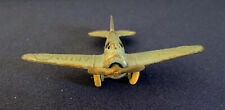 "Vintage Barclay BA7a Army Airplane Original 1940's 3.75"" Wing Span"
