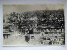 SALONICCO Thessaloniki Grecia hellas Macedonia ORIGINAL OLD PHOTO 1917 Fire 12 *