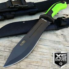 "13"" TACTICAL ARMY SURVIVAL Rambo Hunting FIXED BLADE KNIFE Bowie w/ SHEATH"
