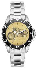 KIESENBERG® Uhr 20121 mit Motorrad Motiv für Puch 250 SG Fahrer