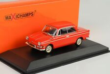 1960 BMW 700 LS orange rouge 1:43 Minichamps / Maxichamps