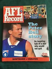 Vintage VFL/AFL 1999 Football Record Hawthorn V Geelong