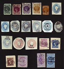 Used Victorian (1840-1901) Postage Ceylon Stamps