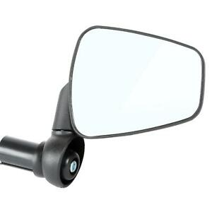 Zefal Dooback 2 Bicycle Convex Wide Angle Mirror Right Black MTB Hybrid
