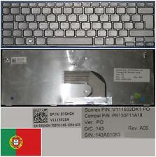 Qwerty Keyboard PO Portuguese DELL Inspiron MINI 07GHGH V111502DK1 PK130F11A18