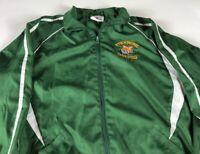 Stockbridge Tigers Jacket Fits Adult SZ S/M Track & Field Windbreaker Lined Mens