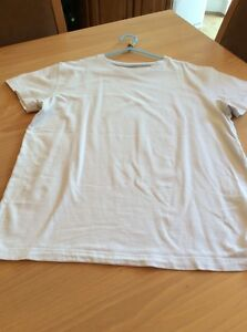 boys clothes 12 years Next White Cotton Short Sleeved Top T-shirt