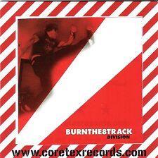 BURNTHE8TRACK - DIVISION CARDBOARD SLEEVE OI SKIN STREET PUNK HARDCORE IGNITE
