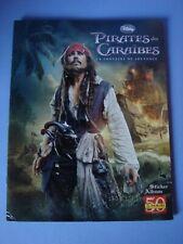 Album Panini Pirates des Caraïbes La Fontaine de Jouvence Disney
