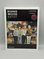 Rolling Stones Ronnie Wood handsigned beautiful Artist Book