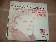 "PETULA CLARK "" DON'T CRY FOR ME ARGENTINA "" EVITA   ITALY'77"
