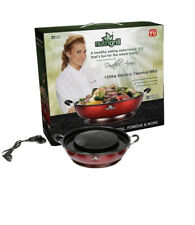 NutriGrill Electric Grill and Steamer: Healthy Smokeless Cooking BBQ Grill