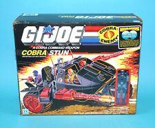 1986 GI JOE COBRA STUN & MOTOR-VIPER v1 100% COMPLETE BOXED US USA BOX HASBRO
