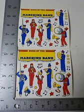 FRANCES MEYER MARCHING BAND SCHOOL STICKERS SCRAPBOOKING A2421