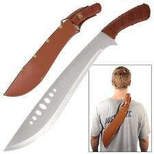 "Book of Eli 21"" Machete Sword with Faux Leather Sheath Collectible"