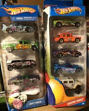 Hot Wheels 1:64 Scale Easter Rides 5-Pack Set Of 2 Gift Packs Target Exclusive