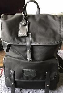tumi alpha Black backpack