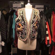 Vintage-Carol Horn Ornate Embellished  Rabbit Vest- SIze L/XL- #LIB1
