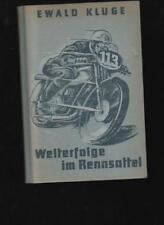 (a66684)   Kluge Motorradeuropameister = Originalunterschrift in: Welterfol
