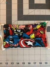 face mask Marvel super hero machine washable double layered iron man thor Hulk