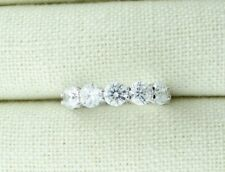 Sterling Silver FIVE STONE CZ Ring