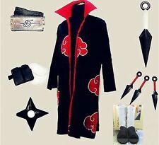 Naruto Itachi Uchiha Cosplay Costume White Shoes Whole set