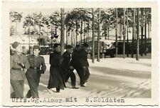 Wehrmacht soldati nella neve, Orig. - PHOTO di 1942